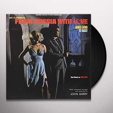 John Barry FROM RUSSIA WITH LOVE / Original Soundtrack Vinyl Record