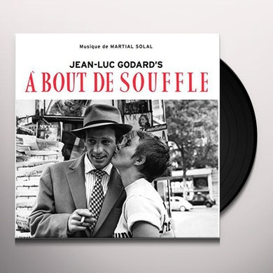 Martial Solal BOUT DE SOUFFLE (BREATHLESS) Vinyl Record