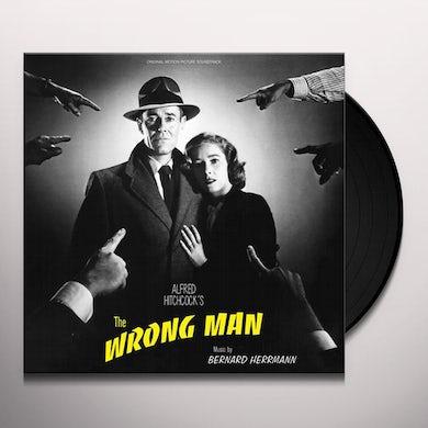 Bernard Herrmann WRONG MAN / Original Soundtrack Vinyl Record
