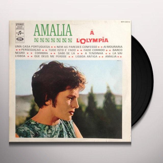 Amalia Rodrigues AMALIA A L'OLYMPIA Vinyl Record