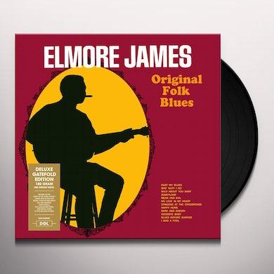 Elmore James ORIGINAL FOLK BLUES Vinyl Record