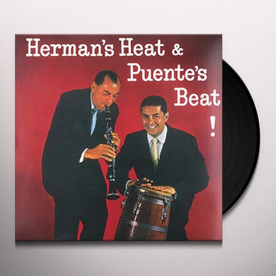 HERMAN'S HEAT & PUENTES BEAT Vinyl Record