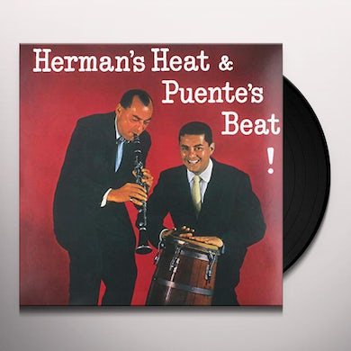 Tito Puente and Woody Herman HERMAN'S HEAT & PUENTES BEAT Vinyl Record