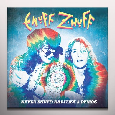 Enuff Z'nuff RARITIES & DEMOS (4LP/COLORED VINYL) Vinyl Record