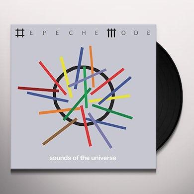 Depeche Mode SOUNDS OF THE UNIVERSE Vinyl Record
