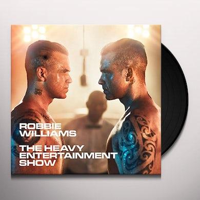 Robbie Williams HEAVY ENTERTAINMENT SHOW Vinyl Record