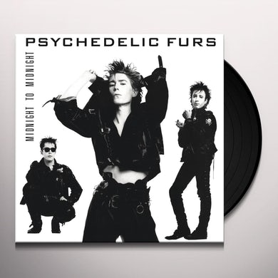 Psychedelic Furs MIDNIGHT TO MIDNIGHT Vinyl Record