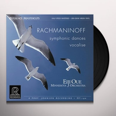Rachmaninov SYMPHONIC DANCES / VOCALISE Vinyl Record