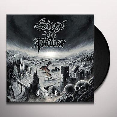 Siege Of Power WARNING BLAST Vinyl Record