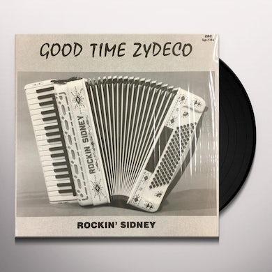Rockin Sidney GOOD TIME ZYDECO Vinyl Record