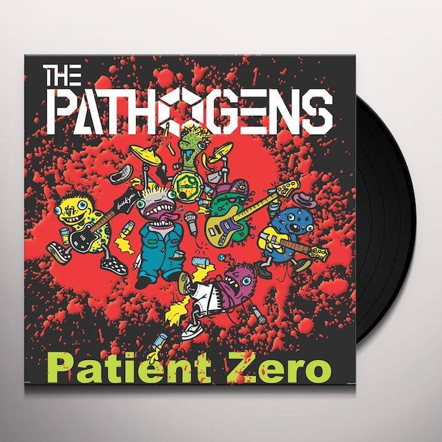 Pathogens PATIENT ZERO (WHITE & OXBLOOD) Vinyl Record