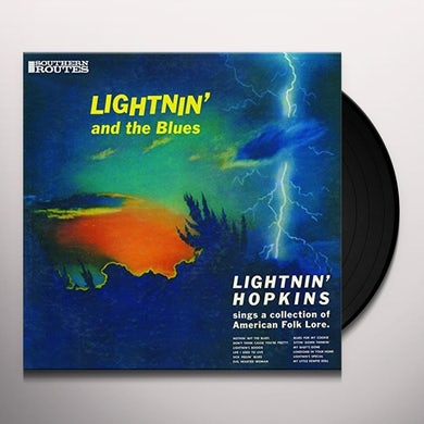 Lightnin Hopkins LIGHTNIN' AND THE BLUES Vinyl Record