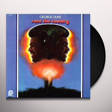 George Duke SAVE THE COUNTRY Vinyl Record