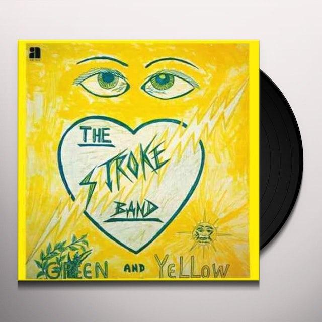 Stroke Band GREEN & YELLOW Vinyl Record