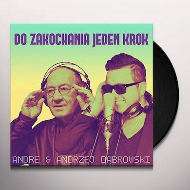 Andrzej Dabrowski DO ZAKOCHANIA JEDEN KROK Vinyl Record
