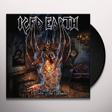 Iced Earth ENTER THE REALM Vinyl Record