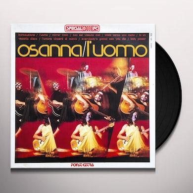 Osanna L'UOMO (1971) Vinyl Record