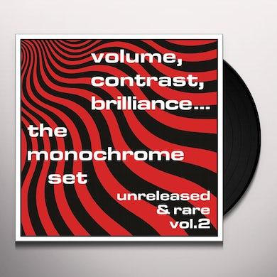 The Monochrome Set VOLUME CONTRAST BRILLIANCE UNRELEASED & RARE 2 Vinyl Record