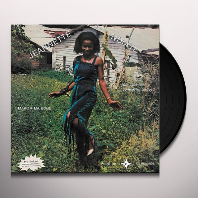 Jeannette N'Diaye MAKOM MA BOBE Vinyl Record