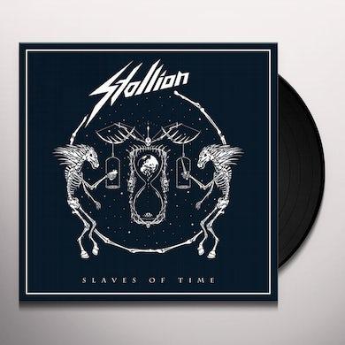 Stallion SLAVES OF TIME Vinyl Record