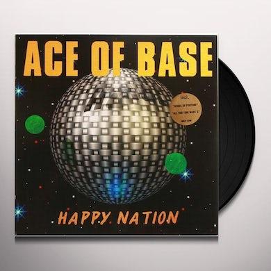 Ace of Base HAPPY NATION Vinyl Record