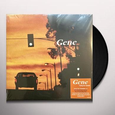 Gene RISING FOR SUNSET Vinyl Record