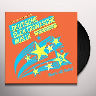 Soul Jazz Records Presents DEUTSCHE ELEKTRONISCHE MUSIK 3: EXPERIMENTAL Vinyl Record