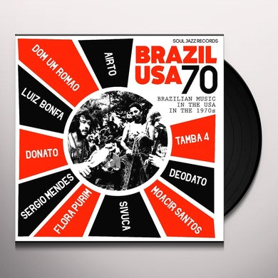 Airto Moreira SOUL JAZZ RECORDS PRESENTS BRAZIL USA 70 Vinyl Record