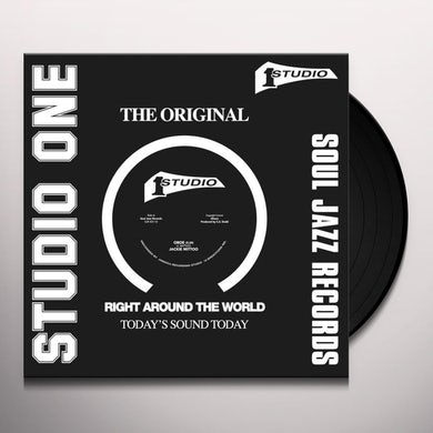 Jackie Mittoo OBOE / WALL STREET Vinyl Record