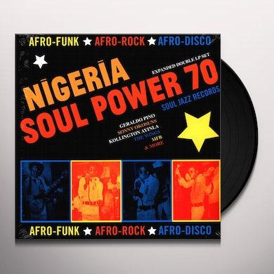 SOUL JAZZ RECORDS PRESENTS NIGERIA SOUL POWER 70 Vinyl Record
