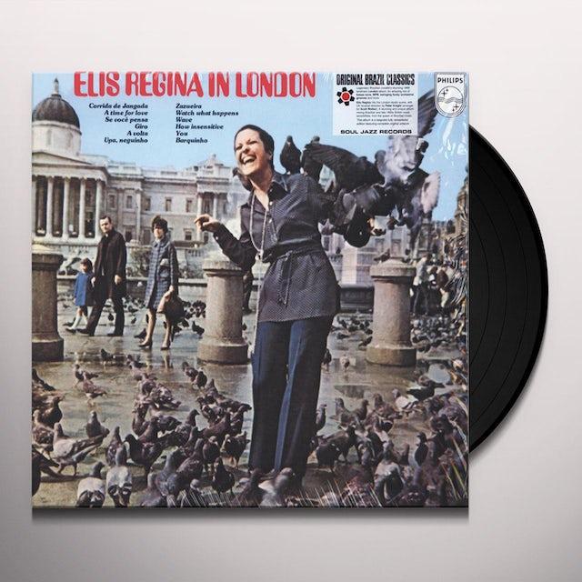 Elis Regina IN LONDON Vinyl Record