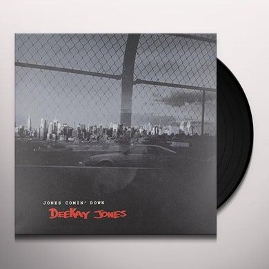 Deekay Jones JONES COMIN' DOWN Vinyl Record - UK Release
