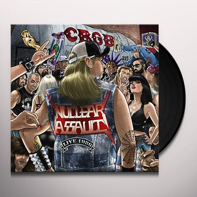 Nuclear Assault LIVE AT CBGBS-PIC DISC Vinyl Record - UK Release