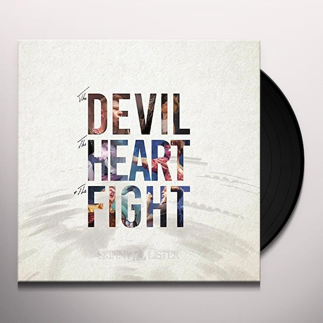 Skinny Lister DEVIL THE HEART & THE FIGHT Vinyl Record