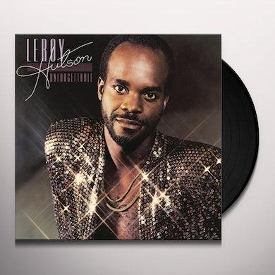Leroy Hutson UNFORGETTABLE Vinyl Record