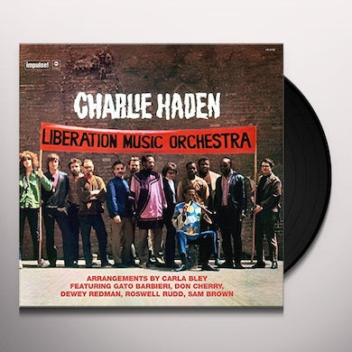 Charlie Haden LIBERATION MUSIC ORCHESTRA Vinyl Record