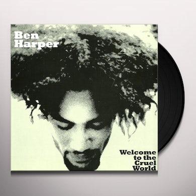 Ben Harper WELCOME TO THE CRUEL WORLD Vinyl Record - Holland Release