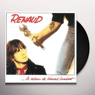 Renaud LE RETOUR DE GERARD LAMBER Vinyl Record