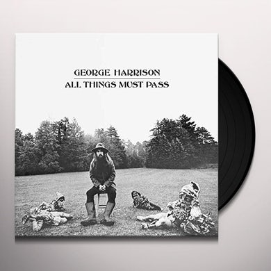 George Harrison ALL THINGS MUST PASS Vinyl Record