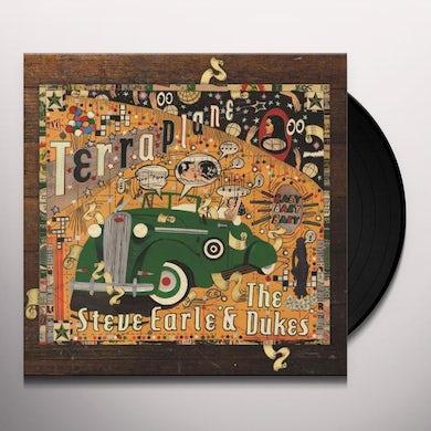 Steve Earle & The Dukes TERRAPLANE Vinyl Record