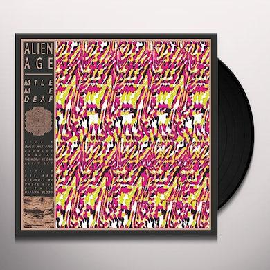 Mile Me Deaf ALIEN DEAF Vinyl Record