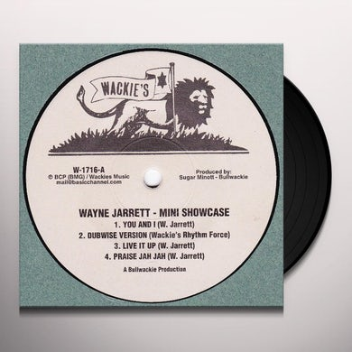 "Wayne Jarrett MINI SHOWCASE (10"") Vinyl Record"