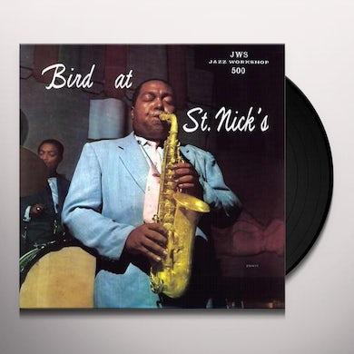 Charlie Parker BIRD AT ST. NICK'S Vinyl Record