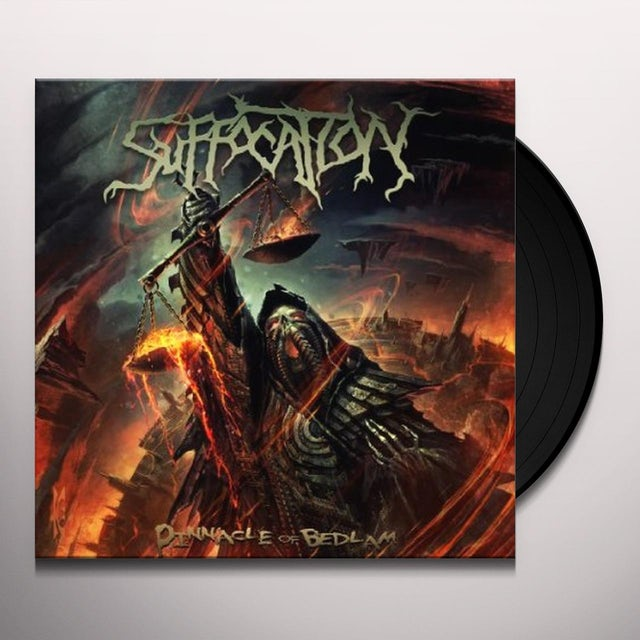 Suffocation PINNACLE OF BEDLAM Vinyl Record