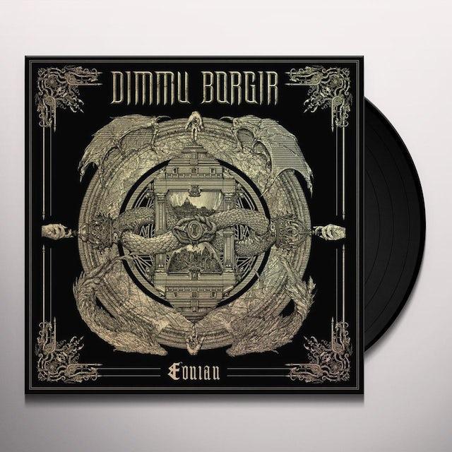 Dimmu Borgir EONIAN - Limited Edition Bone & Black Swirled Colored Vinyl Record