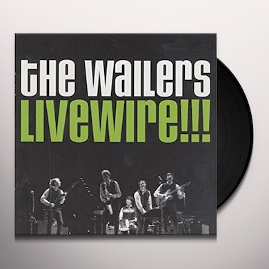 The Wailers LIVEWIRE Vinyl Record
