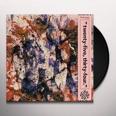 2534 Vinyl Record