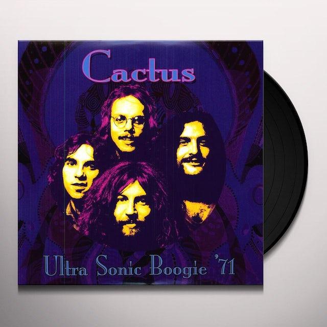 Cactus ULTRA SONIC BOOGIE 1971 Vinyl Record