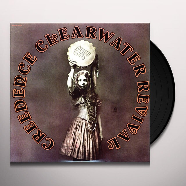 Creedence Clearwater Revival MARDI GRAS Vinyl Record