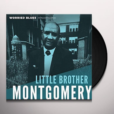 Little Brother Montgomery WORRIED BLUES Vinyl Record